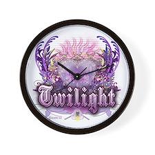 Peace Love Twilight Wall Clock