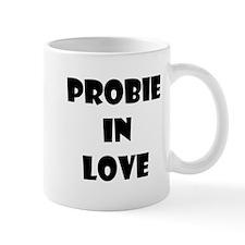 Probie in Love (black text) Mug