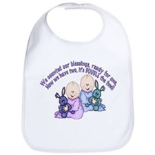 Double Fun Twins Bib