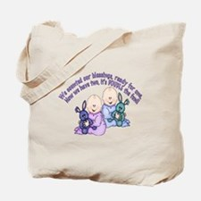 Double Fun Twins Tote Bag