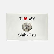 I love my Shih-tzu Rectangle Magnet