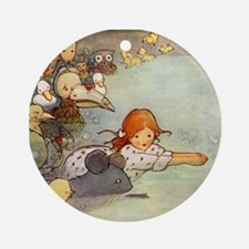 ALICE & THE CAUCUS RACE Ornament (Round)