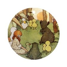 ALICE & THE MOUSE'S TALE Ornament (Round)