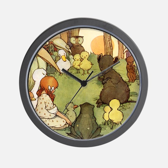 ALICE & THE MOUSE'S TALE Wall Clock