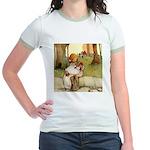 ALICE & THE PIG BABY Jr. Ringer T-Shirt