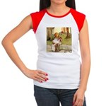 ALICE & THE PIG BABY Women's Cap Sleeve T-Shirt