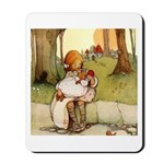 ALICE & THE PIG BABY Mousepad