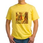 ALICE & THE MOCK TURTLE Yellow T-Shirt
