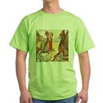 ALICE & THE MOCK TURTLE Green T-Shirt