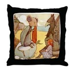ALICE & THE MOCK TURTLE Throw Pillow
