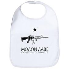 Molon Labe - Come and Take It Bib