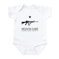 Molon Labe - Come and Take It Infant Bodysuit