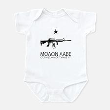 Molon Labe - Come and Take It Onesie