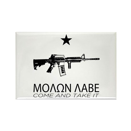 Molon Labe - Come and Take It Rectangle Magnet