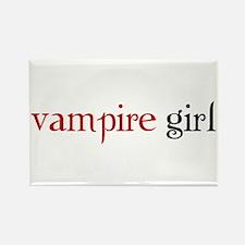 Cute Vampire girl Rectangle Magnet