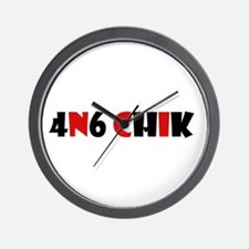 4n6 Chik Wall Clock