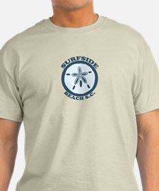Surfside Beach SC - Sand Dollar Design T-Shirt