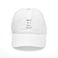 Loved by a Plott Hound Baseball Cap