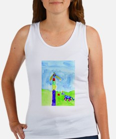 Roses and Rainbows Women's Tank Top