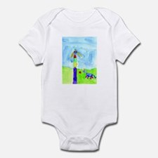 Roses and Rainbows Infant Bodysuit