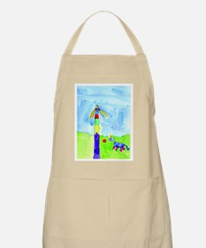 Roses and Rainbows Apron