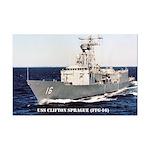 USS CLIFTON SPRAGUE Mini Poster Print
