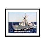 USS CLIFTON SPRAGUE Framed Panel Print
