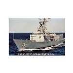 USS CLIFTON SPRAGUE Rectangle Magnet (100 pack)