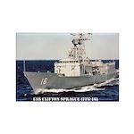 USS CLIFTON SPRAGUE Rectangle Magnet
