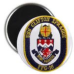 """USS CLIFTON SPRAGUE 2.25"""" Magnet (100 pack)"""