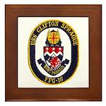 USS CLIFTON SPRAGUE Framed Tile