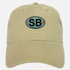 Surfside Beach SC - Oval Design Baseball Baseball Cap