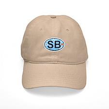 Surfside Beach SC - Oval Design Baseball Cap