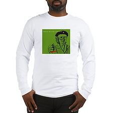Guerilla Librarian Long Sleeve T-Shirt