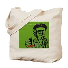 Guerilla Librarian Tote Bag