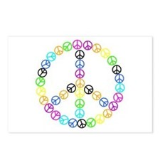 Peace Signs Postcards (Package of 8)