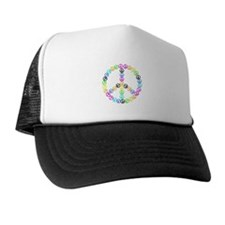 Peace Signs Trucker Hat