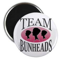 Team Bunheads Magnet