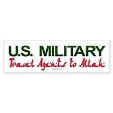 Travel Agents to Allah Bumper Bumper Sticker