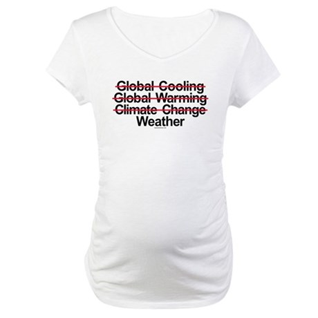 It's called Weather Maternity T-Shirt