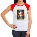 Mount Vernon Police Women's Cap Sleeve T-Shirt