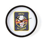 Mount Vernon Police Wall Clock