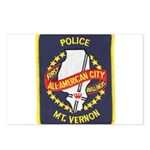 Mount Vernon Police Postcards (Package of 8)