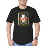 Mount Vernon Police Men's Fitted T-Shirt (dark)