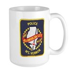 Mount Vernon Police Large Mug