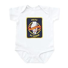 Mount Vernon Police Infant Bodysuit