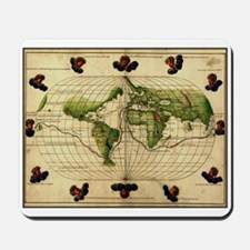 """""""1544 World Map"""" Mousepad"""
