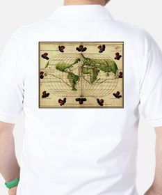 """1544 World Map"" T-Shirt"