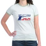 Just Try and Take It Jr. Ringer T-Shirt