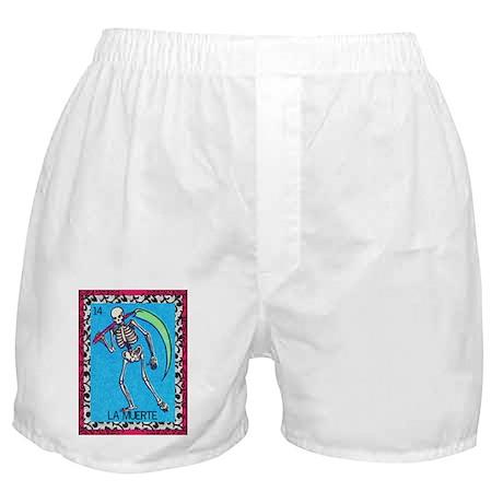 Vintage La Muerte Boxer Shorts